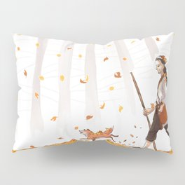 Golden Autumn Pillow Sham