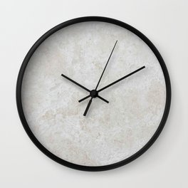 Travertine Wall Clock