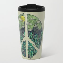 Peaceful Landscape Travel Mug