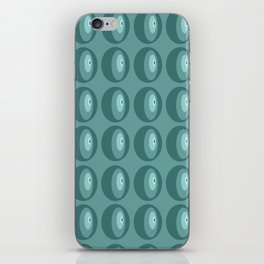 The abstract eye pattern iPhone Skin