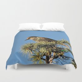 O My Starling, Clementine! Duvet Cover