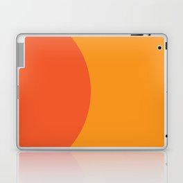Orange Rising Laptop & iPad Skin