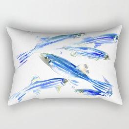 Zebra Fish, Danio Rectangular Pillow