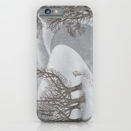 The Night Gardener - Winter Park iPhone Case