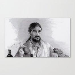 Barbecue & Flint Canvas Print