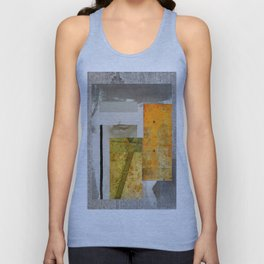 THE FACE BEHIND THE WINDOW Unisex Tank Top