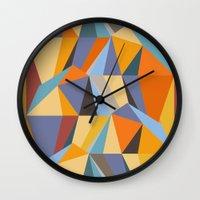 metropolis Wall Clocks featuring Metropolis by Norman Duenas