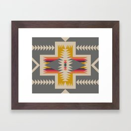canoe ready Framed Art Print
