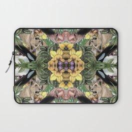 Wildlife Kaleidoscope Laptop Sleeve