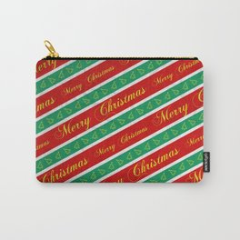 Christmas Wrapping Paper Carry-All Pouch