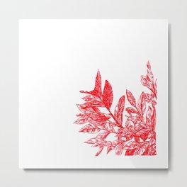 Nº 14 Foliage Metal Print