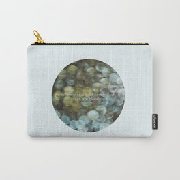 Starlight - Steven Hall Quote Carry-All Pouch