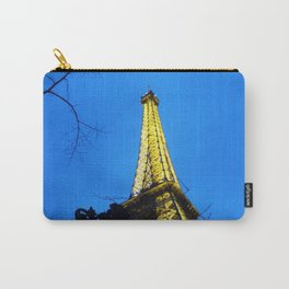 The Eiffel Tower at Night in Paris, France Carry-All Pouch