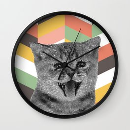 GEOKitten Wall Clock