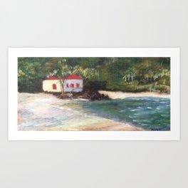 Cinnamon Bay at Sunrise 2 Art Print