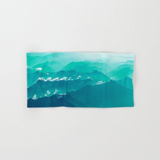 Mountain Waves Hand & Bath Towel