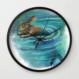 River raddit Wall Clock