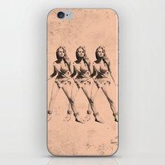 Raquel Welch in Triplicate iPhone & iPod Skin