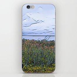 Bike by the Sea iPhone Skin