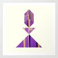 kate bishop Art Prints featuring BISHOP by TANGRAMMAR