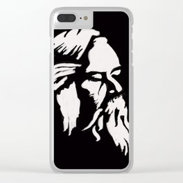 Rabindranath Tagore Clear iPhone Case