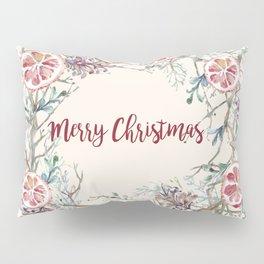 Xmas Wreath Pillow Sham