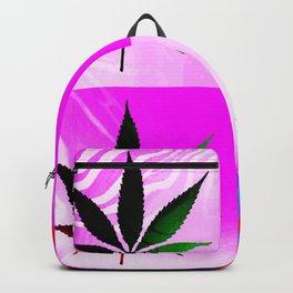 GreenRush - PopLeaf Pink Backpack