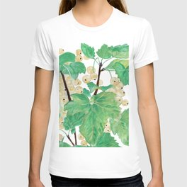 Branch of white currants T-shirt