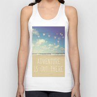 adventure is out there Tank Tops featuring adventure is out there by Sylvia Cook Photography