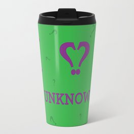 I heart The Unknown Travel Mug