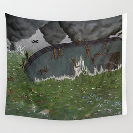 Dulce et Decorum Est Pro Patria Mori Wall Tapestry
