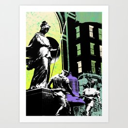 New York Bell Art Print