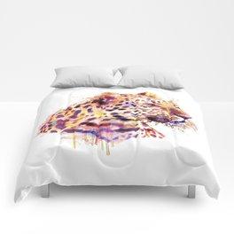 Leopard Head Comforters