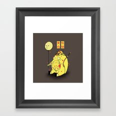 My Yellow Monster Framed Art Print