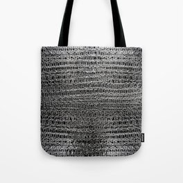Silver Chain Maille Tote Bag