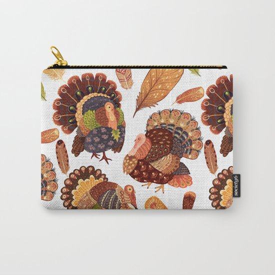 Turkey Gobblers Carry-All Pouch