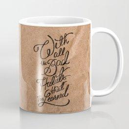 Bad Habits Coffee Mug