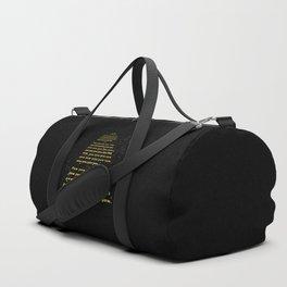 PEW PEW PEW Duffle Bag