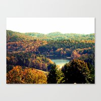 trout Canvas Prints featuring Trout Lake by Lindsay Isenhour