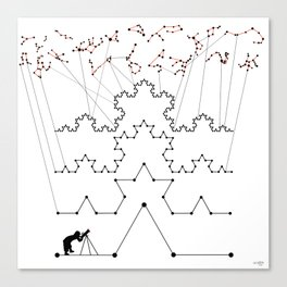the Constellations Canvas Print