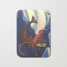 Deep Sea Battle Bath Mat