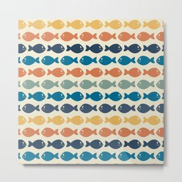 Colorful fish Metal Print