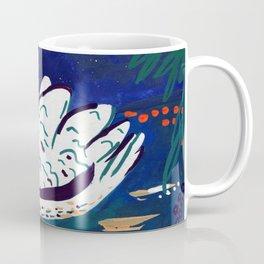 Moonlight Swan Coffee Mug
