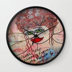Fairy Art Mother Wall Clock