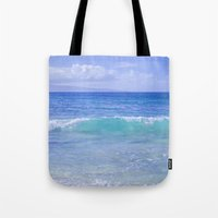 destiny Tote Bags featuring Destiny by Sharon Mau