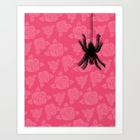spider Art Prints featuring Spider by Mr & Mrs Quirynen