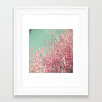 blossom Framed Art Prints featuring Blossom by Cassia Beck