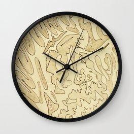 Primal Urge Wall Clock