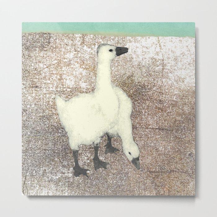 Not so wild geese Metal Print