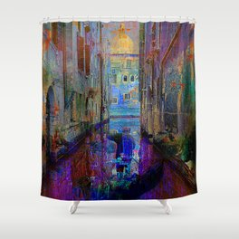 The gondolier Shower Curtain